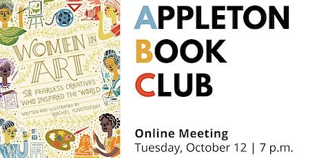 "Appleton Book Club: ""Women in Art"" tickets"