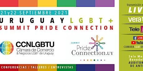 Uruguay LGBT + Summit Pride Connection 2021, Trasmisión Vera Tv, TeleR, tickets