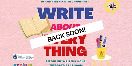 Write About Everything (is currently having a break) tickets