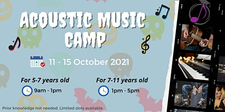 October Acoustic Music Camp (for 7-11 years old) tickets