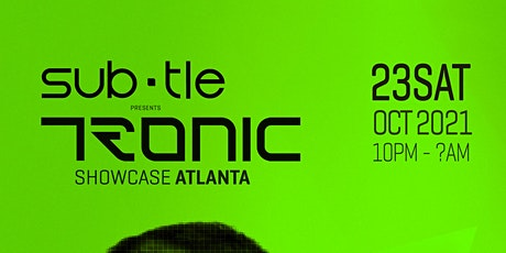 Tronic Label Night with Christian Smith, Drunken Kong and Sam Wolfe tickets