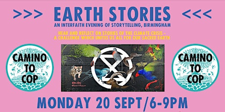 'Earth Stories' with the Camino to COP26 tickets