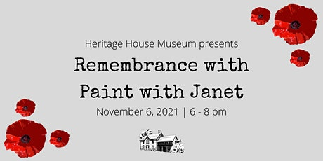 Remembrance - Paint with Janet tickets