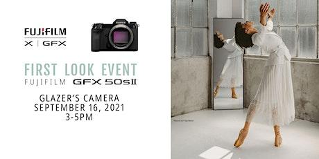 First Look: Fujifilm GFX 50s II tickets