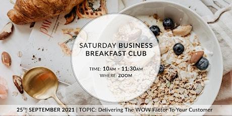 Business Breakfast Club tickets