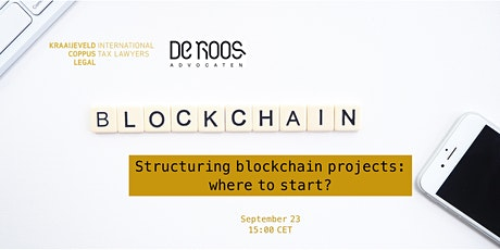 Structuring blockchain projects: where to start? tickets