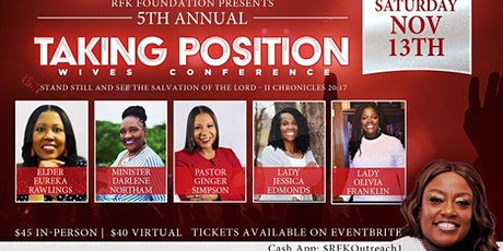 RFK Outreach presents Wives Taking Position tickets