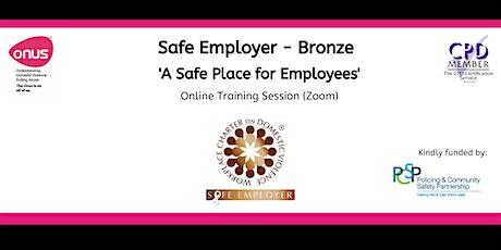 Safe Employer (Bronze) Mid & East Antrim Borough Council tickets