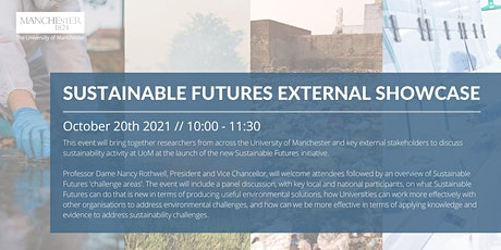 Sustainable Futures External Showcase Launch tickets