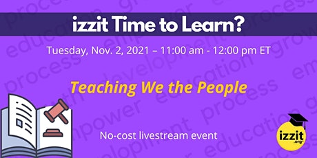 Teaching We the People tickets