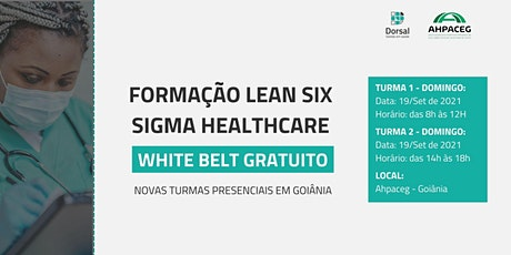 Lean Six Sigma HealthCare - White Belt (Goiânia) ingressos