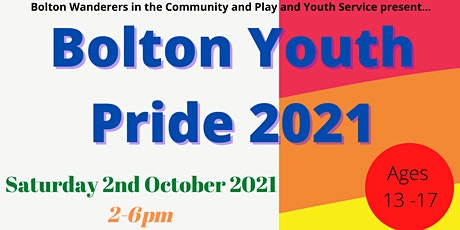 Bolton Youth Pride 2021 tickets