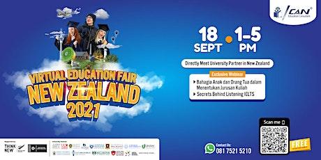 Virtual Education Fair New Zealand 2021 tickets