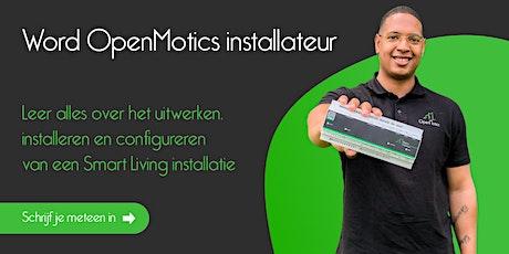 Word OpenMotics installateur tickets