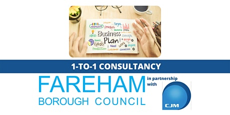 1-to-1 Consultancy & Advice on Business Planning tickets