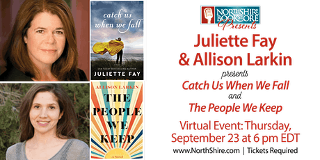 Northshire Online: Juliette Fay and Allison Larkin tickets