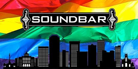 Soundbar Celebrates Pride 2021 September 25. Open 1pm. tickets