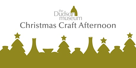 Christmas craft afternoon with coffee & mince pies tickets
