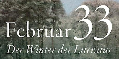 SALON LUITPOLD c/o C.H.BECK: Februar 33 - Der Winter der Literatur Tickets