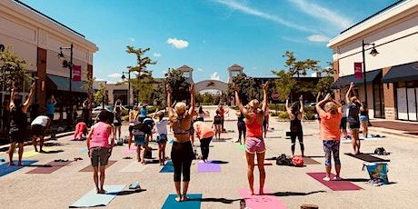 Outdoor Yoga at Deer Park Town Center- Sun. Sept. 19, 10AM tickets