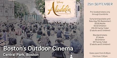 Aladdin (2019) Live Action Adaptation - Boston's  Outdoor Cinema tickets