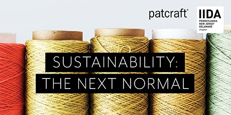 """Patcraft (CEU):  """"Sustainability -- The Next Normal"""" tickets"""