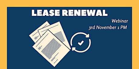 Lease renewal tickets