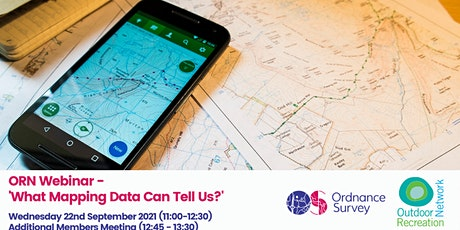 ORN 'What Mapping Data Can Tell Us?' Webinar tickets