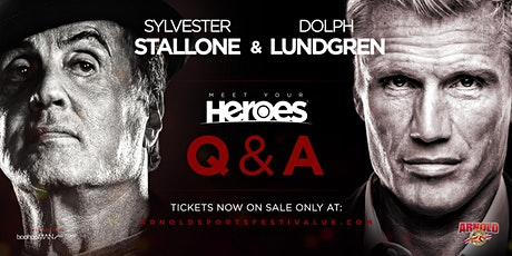 *SUNDAY* 'Sylvester Stallone' + Special Guest 'Dolph Lundgren' tickets