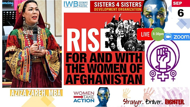 Business Women Leaders In Action.  Solidarity with Afghanistan. image
