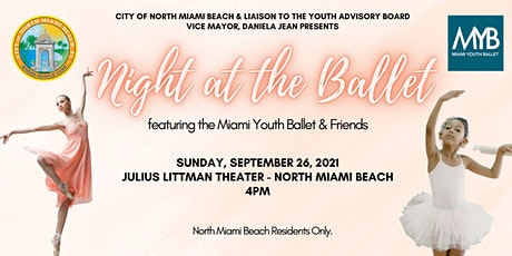 Night at the Ballet featuring Miami Youth Ballet & Friends tickets