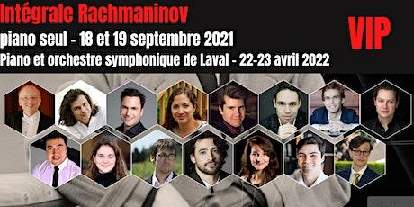 VIP-Intégrale Rachmaninov -Piano seul, piano  et Orchestre symphonique billets