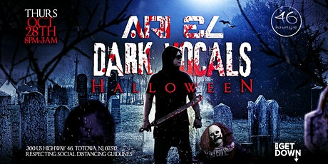 Ari El   Dark Vocals Halloween tickets
