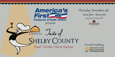 Taste of Shelby County 2021 tickets