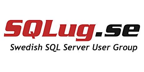 Swedish SQL Usergroup meetup, September, October, November tickets