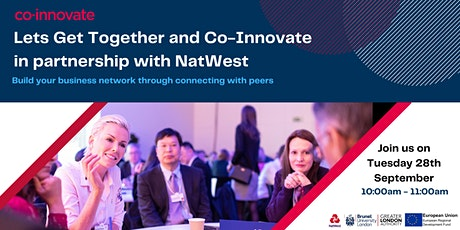 Let's Get Together and Co-Innovate with NatWest tickets
