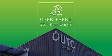 UTC Oxfordshire Open Event (KS4) - Thursday 30 September 2021 tickets