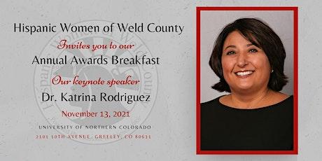 HWWC Annual Awards Breakfast tickets