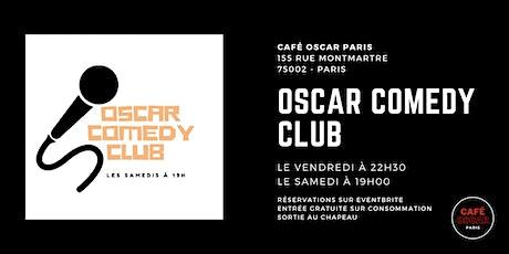 Standup : oscar comedy club billets