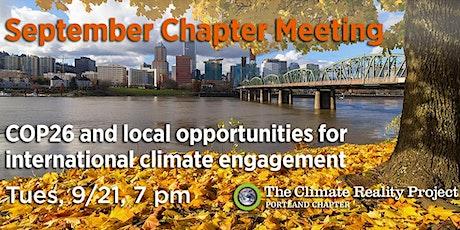 September Chapter Meeting tickets