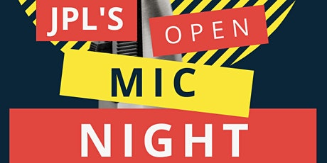 Open Mic Night-Online and In-person! tickets