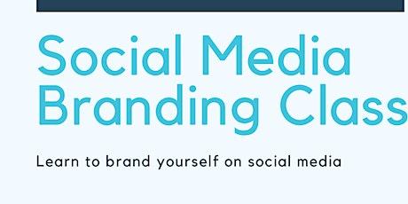Social media branding class tickets