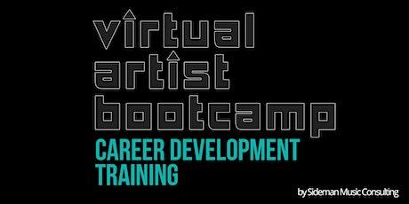 Sideman Music Consulting presents Virtual Artist Bootcamp - NOVEMBER  2021 tickets
