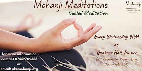 Mohanji Meditations - Guided Meditation tickets