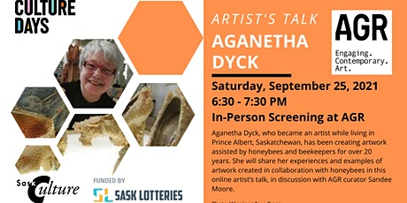 Artist's Talk: Aganetha Dyck (in-person viewing) tickets