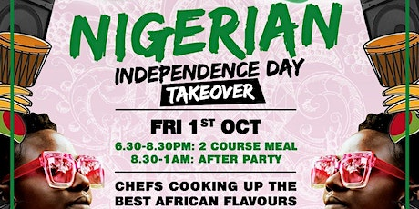 Nigerian Independence Day TAKEOVER tickets