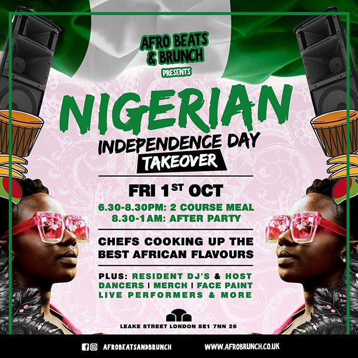 Nigerian Independence Day TAKEOVER image