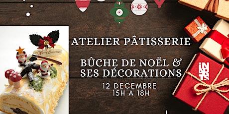 Atelier pâtisserie / découverte culturelle: bûche de Noël & ses décorations billets