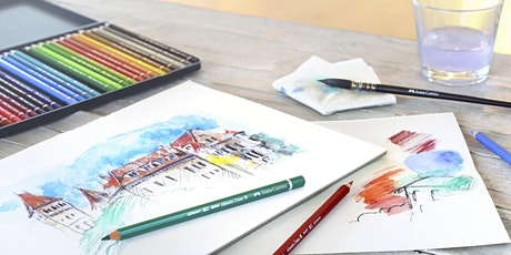 FABER - CASTELL WITH ARTIST FRANZ SPOHN'S DRAWING CLASS - VIRTUAL EVENT tickets