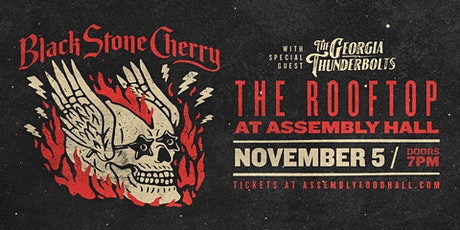 Black Stone Cherry on the Skydeck at Assembly Hall tickets